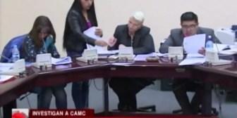 Comisión mixta realizará borrador de informe por su pericia con CAMC