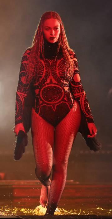 Beyoncé en los premios BET.