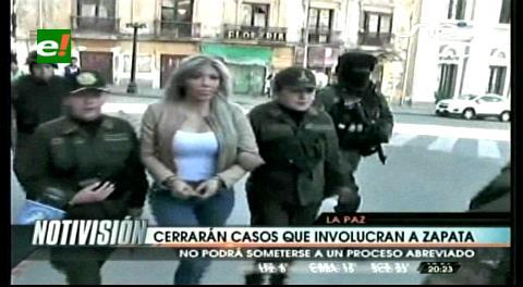Cerrarán casos que involucran a Gabriela Zapata