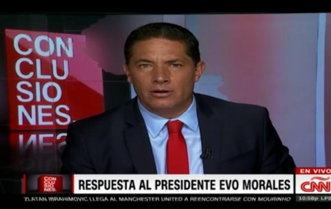 Periodista de CNN responde a acusaciones de Evo Morales