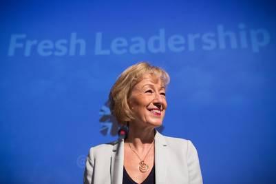 La secretaria de Energía británica, Andrea Leadsom, es una defensora del Brexit. / dpa