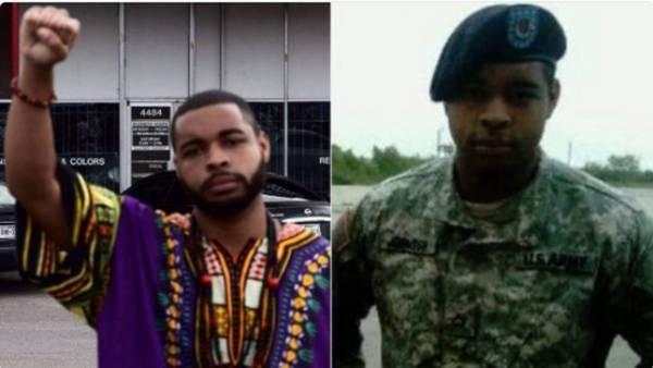 Este sería Micah Xavier Johnson, de 25 años, el principal sospechosos de la masacre de policías en Dallas./ Imagen de Twitter