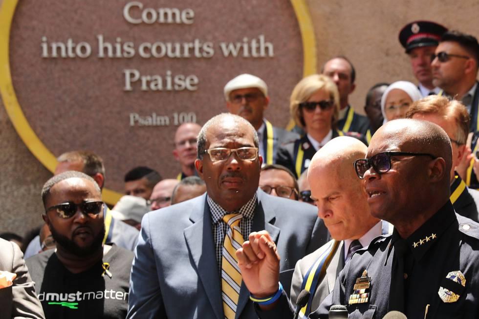 El jefe de policía de Dallas, David Brown.
