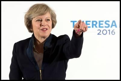 La ministra del Interior británica, Theresa May./ DPA