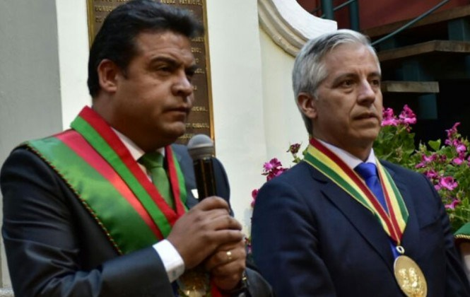 Revilla quiere el doble de presupuesto para La Paz y trabajar de manera estrecha con el Gobierno
