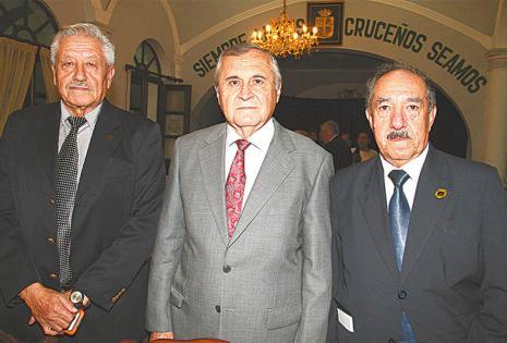 Solo ellos. Jaime Paz, Lidio Aparicio Y Rodolfo Ramos, Muy Elegantes