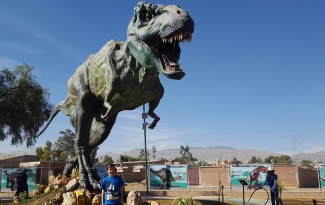 Cretácico de Sacaba se convertirá en parque prehistórico con la incorporación de la Era del Hielo