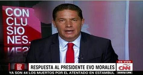 Fernando del Rincón, periodista de CNN