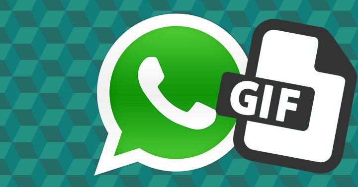 WhatsApp con icono GIF