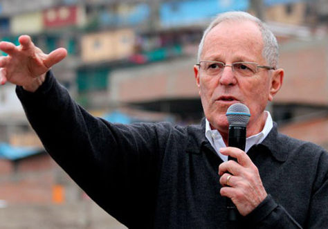 El candidato peruano Pedro Pablo Kuczynski.