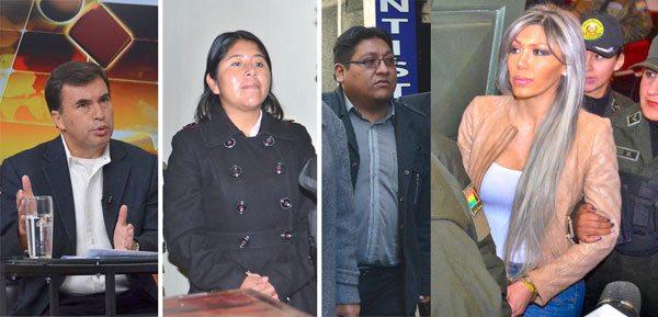 Fiscalía absuelve a Evo, Quintana y la Camc; acusa a Gabriela Zapata y 6 personas