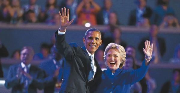 El presidente Obama dijo que Clinton tiene experiencia para manejar una crisis global