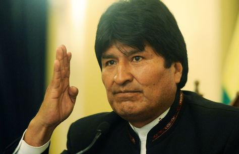 El presidente Evo Morales en conferencia de prensa. Foto: Archivo