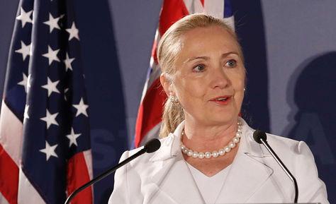Hillary Clinton, primera mujer candidata a la presidencia de Estados Unidos. Foto: www.abc.net.au