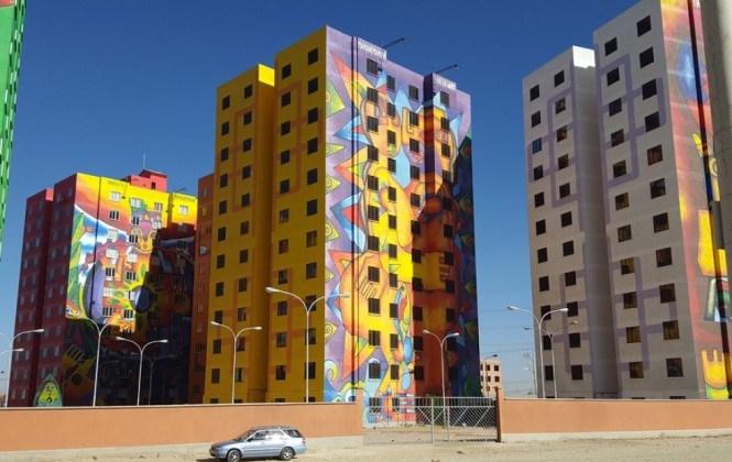 Condominio Wiphala: sólo 29 familias se fueron a vivir al coloso andino de 336 departamentos