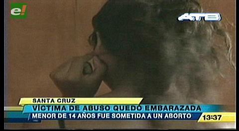 Menor víctima de abuso fue sometida a un aborto