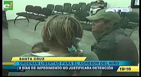 Ordenan libertad para agresor de menor de 7 años
