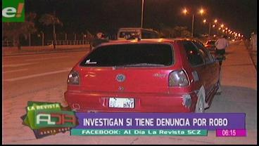 Denuncian vehículo sospechoso en el Plan Tres Mil