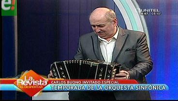 Carlos Buono y la OSJ juntos en concierto