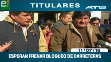 Titulares de TV: Transporte pesado acudirá al diálogo convocado por el Gobierno
