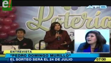 Lotería Nacional sortea más de Bs 100 mil por el mes de La Paz