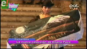 """Eliana Paco muestra la elegancia de la """"Chola Paceña"""""""