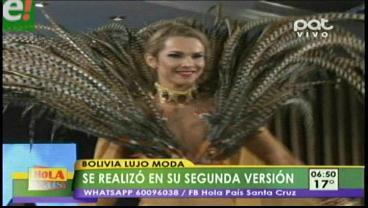 """""""Bolivia Lujo Moda"""" fue todo un éxito en su 2da versión"""