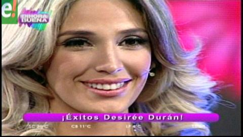Desirée Durán se despidió de PAT