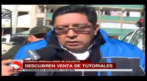 La Paz: Aprehenden a un docente universitario por cobros irregulares para tutoriales