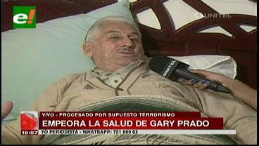 Gary Prado pide ser alejado del caso terrorismo hasta que mejore su salud