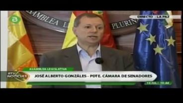 "Gonzáles: ""Chile contrata a empresa que gestó guerra en Irak"""