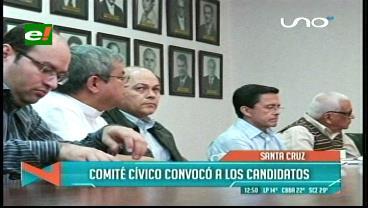 Cuarto intermedio en la reunión de candidatos a la 'U' en el Comité Cívico
