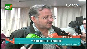 """Gary Prado Araúz y la separación de su padre del caso Rózsa: """"Es un acto de justicia"""""""
