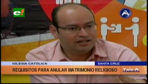 Iglesia Católica anula unos 80 matrimonios al año