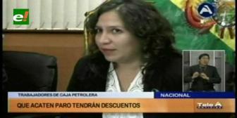 Campero califica de insensible paro la Caja Petrolera y anuncia descuentos