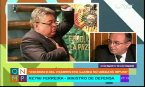 Ministro Ferreyra cuenta como Rodolfo Illanes fue torturado y llora su muerte