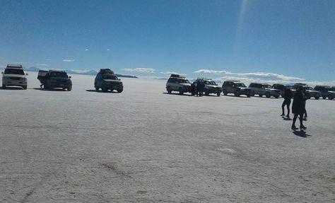 El salar de Uyuni. Foto: Turismo San Juan