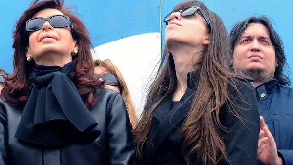 Allanamientos simultáneos en propiedades de Los Sauces SA de Cristina y su hijos. Foto DyN. - DYN