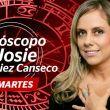 Josie Diez Canseco. Horóscopo del martes 9 de agosto de 2016