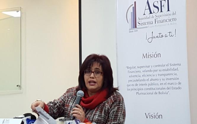 ASFI atribuye crecimiento del sistema financiero a créditos productivos y de vivienda social
