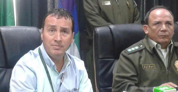 Rudolf Kuruz se presentó voluntariamente en el comando policial y pidió disculpas por agresión a guardia de seguridad