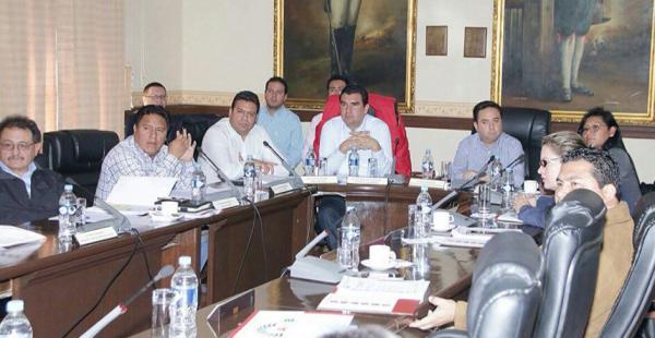 Los alcaldes de las ciudaddes capitales de La Paz, Oruro, Potosí, Cochabamba, El Alto, Trinidad, Cobija y Sucre participaron de la reunión