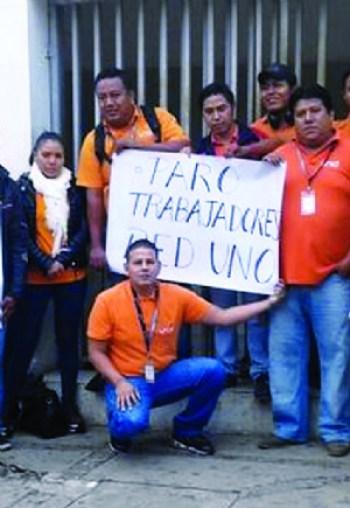 Periodistas dan apoyo a sus colegas de Red Uno