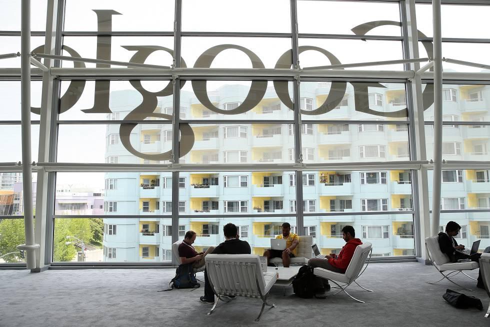 Imagen de archivo de una conferencia de desarrolladores de Google, en San Francisco.
