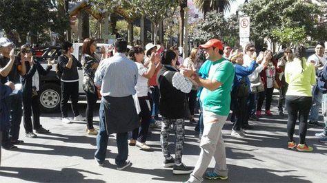 Argentinos varados en Tarija. Foto: ejutv.com
