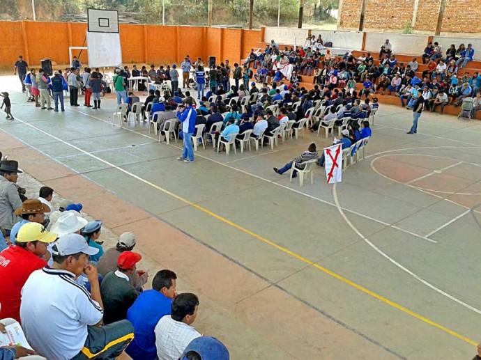 MUYUPAMPA.La reunión fue convocada por la Asociación de Municipalidades de Chuquisaca (AMDECH) y trató el tema Incahuasi