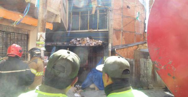 Iniciaron los peritos para conocer los motivos del incendio en La Paz y estructura afectada