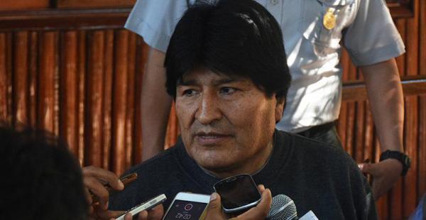 Evo Morales en Pando