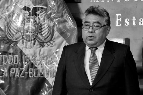 El viceministro de Régimen Interior y Policía, Rodolfo Illanes.