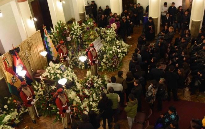 EEUU manda condolencias y desea que pronto regrese la paz a Bolivia